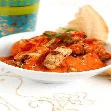 Indisk gryta med Quorn, cashewnötter och ingefära