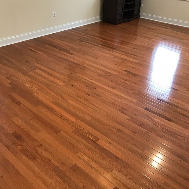 Newly Installed Bruce Dundee Strip Hardwood Flooring Color Butter Rum In Playroom And Hallway Of Home In Biltmore Pa Wood Floor Texture Flooring Floor Texture