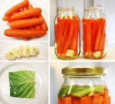 Supercharged Fermented Carrot Sticks