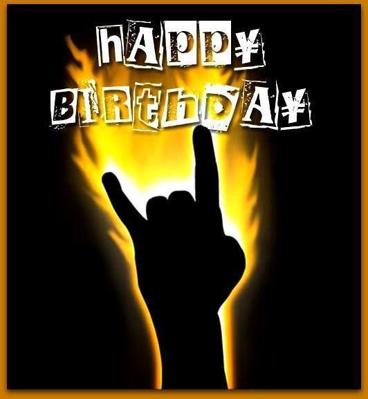 Geburtstag Rocker