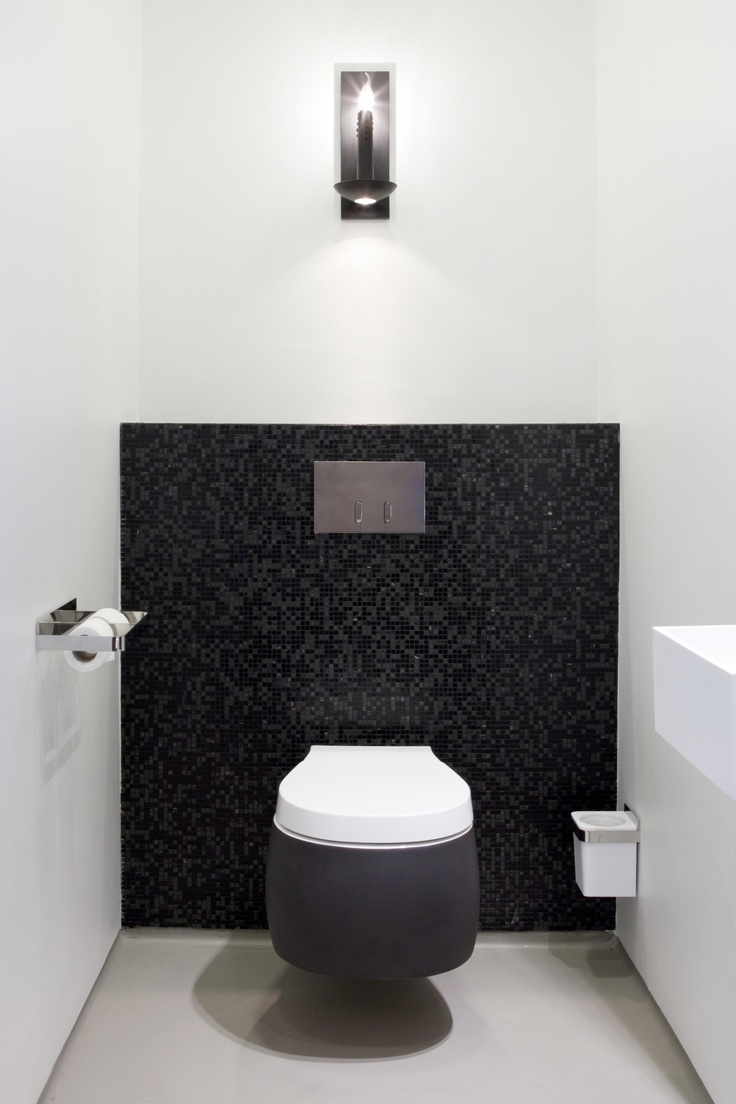 Best Ideas About Black Toilet On Pinterest Concrete Bathroom - Black modern bathroom toilet