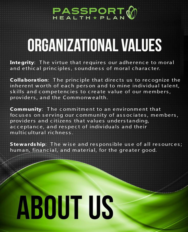 Our Values....