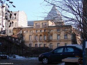 14.Casa Vacarescu, spatele, vedere din Splai & Str Ilfov, 2009