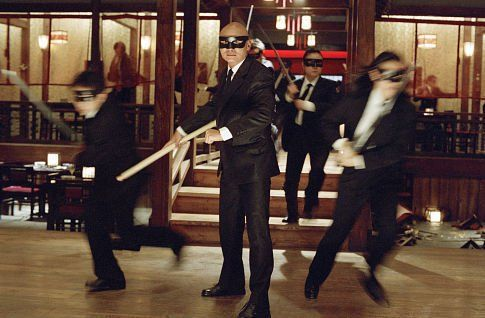 "The Crazy 88's, in ""Kill Bill"".: Quentin Tarantino, Kill Bill, Film Call, Gordon Liu Centers, Call Kill, Johnny Mo, Personal Army, Crazy 88 S, Cult Film"
