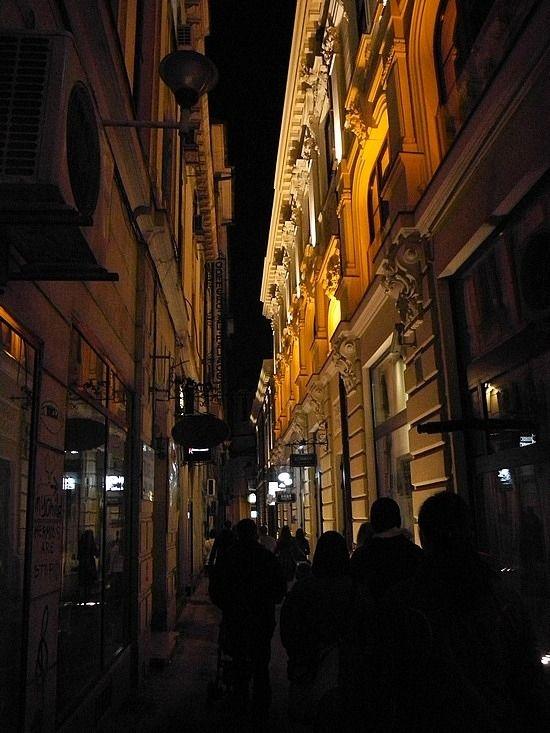 Old City Street...