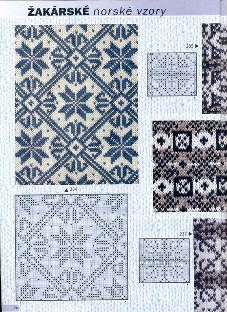 112 best Вязание спицами.Жаккард. images on Pinterest | Strickmuster ...