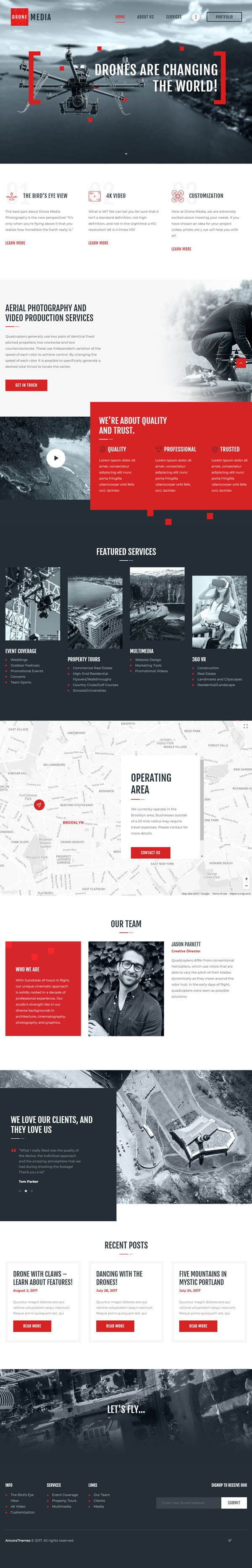 Drone Media | Aerial Photography & Videography #websitetemplate #websitedesign #designer #website #Corporate #responsive #HTML5 #css3 #Bootstrap #SEO