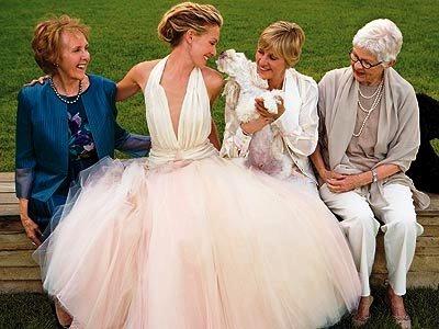 Celebrity Wedding Dresses: Portia de Rossi