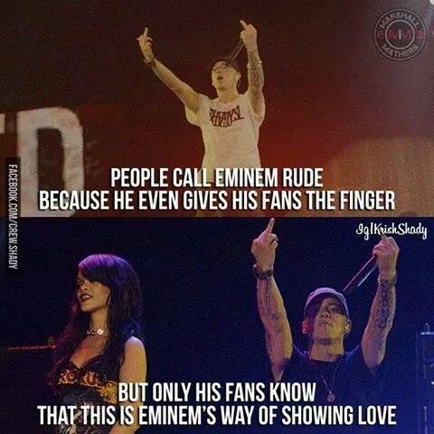 I love you too Eminem