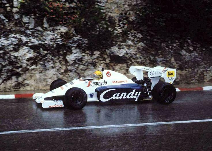 Ayrton Senna, Toleman TG184 Hart GP Monaco 1984