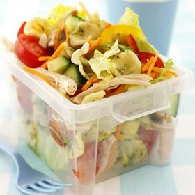 Weight Watchers Recipe: Chicken Pasta Salad - Calories: 170 WW Points: 3 Weight Watcher Points
