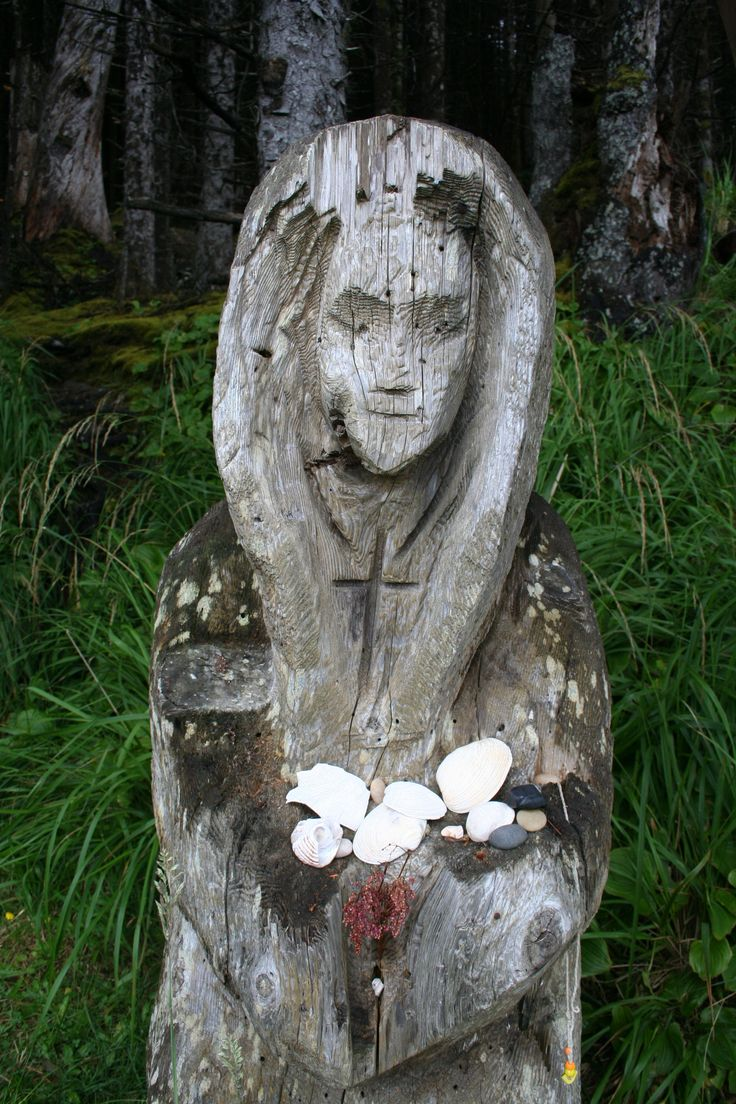St. Mary's Spring on Haida Gwaii. legend states that if you drink from the spring you'll return to the island. photo credit: kayla bailey