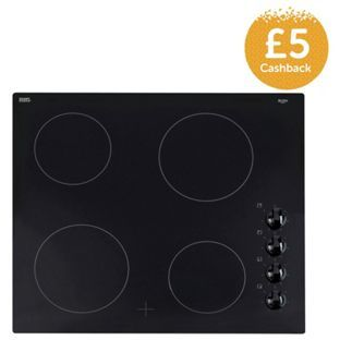 Buy Bush A60CO Ceramic Electric Hob - Black at Argos.co.uk - Your Online Shop for Electric hobs, Electric hobs.