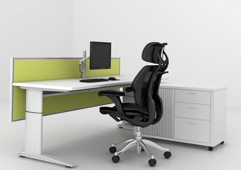 Max-it Straight  Max-it Workstations are a smart, flexible, integrated solution for any workplace or office. Desktops are manufactured to your required size and are finished in tough and durable Melamine or Veneer.