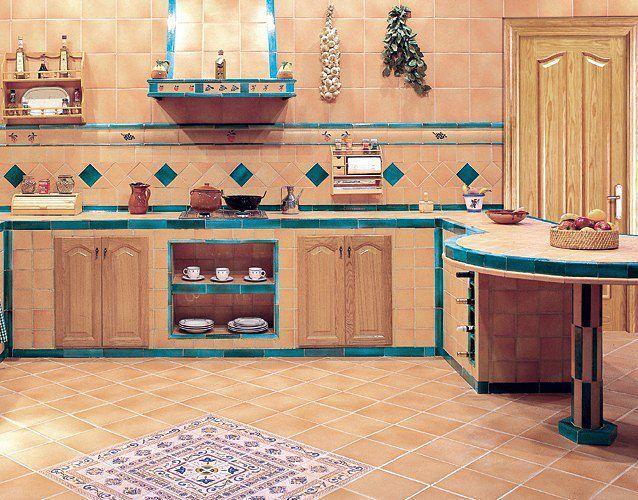 cocinas de obra rusticas fotos