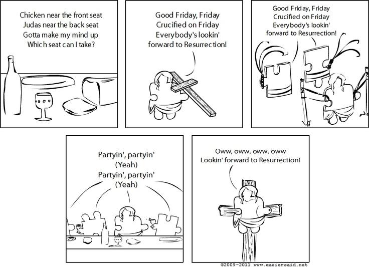 Holy Friday   http://paper.li/Dread_Solomon/