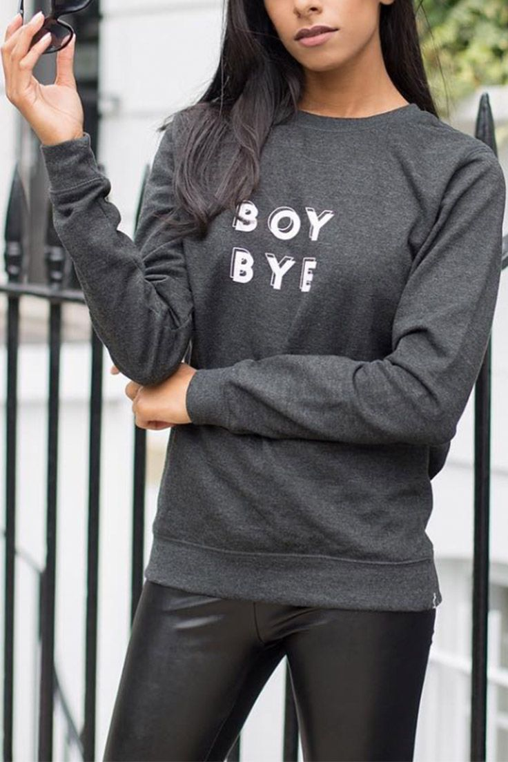 Boy Bye Beyonce feminist jumper, from Rani & Co.