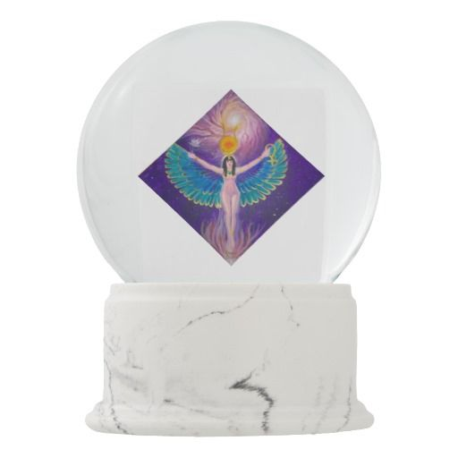The goddess Isis Snow Globe