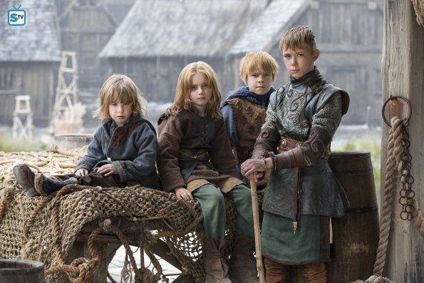 Ivar the Boneless,Sigurd Snake-in-the-Eye, Hvitserk and Ubbe