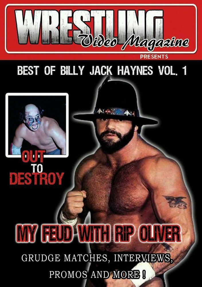 Wrestling Video Magazine: Best of Billy Jack Haynes Vol. 1 (DVD, 2016)