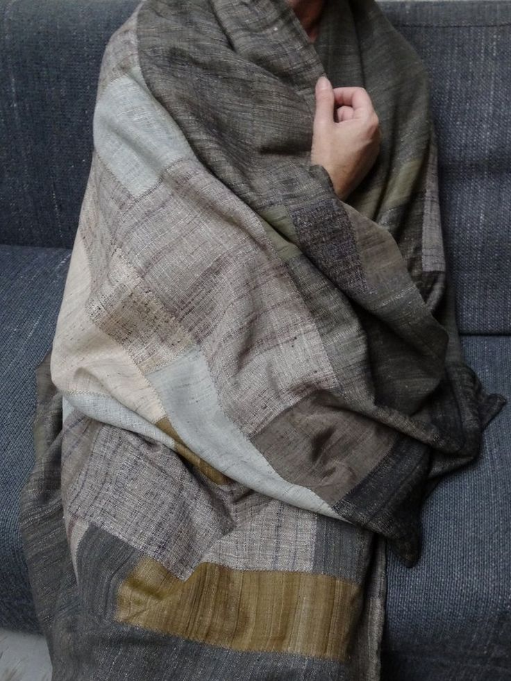 Image of silk blanket / tapestry