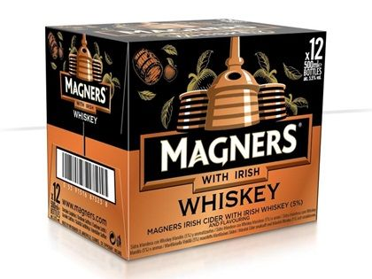 Magners Cider with Irish WHISKEY