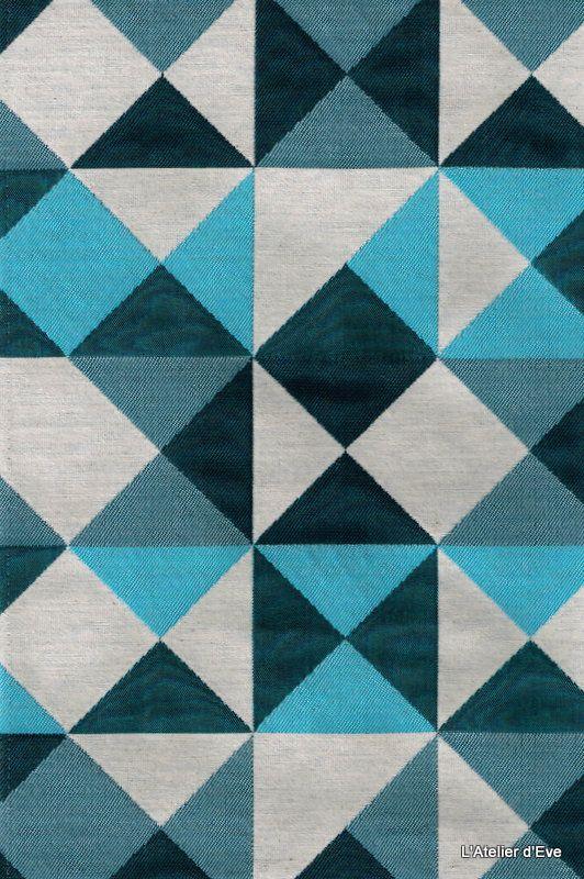 oltre 1000 idee su rideau bleu canard su pinterest. Black Bedroom Furniture Sets. Home Design Ideas