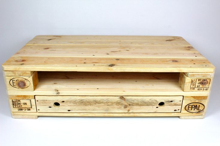 Couchtische - Palettenmöbel - Tisch No.4 - ein Designerstück von Woody-Dekor bei…