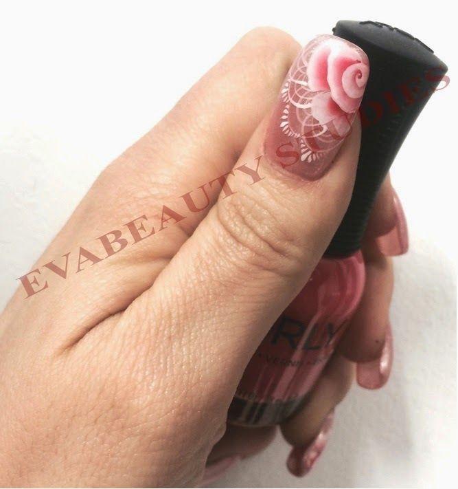 EVABEAUTY STUDIES: Nail Art: ONE STROKE
