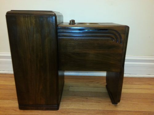 Antique art deco zenith 5s 237 coffee table chair side for Zenith sofa table