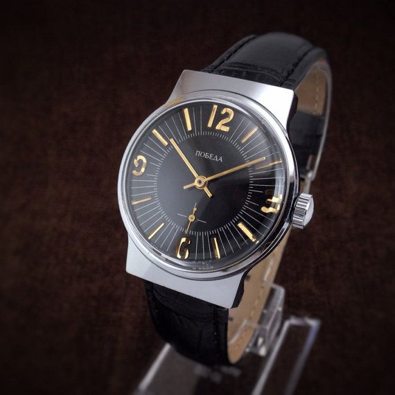 pobeda victory stylish soviet mechanical from 70s