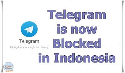 Telegram is now Blocked in Indonesia [News] The Ministry of Communications and Information Technology on July 14, 2017, has asked the Internet Service Provider (ISP) to terminate access (blocking) to Telegram's 11 Domain Name System (DNS). This blocking must be done because the many channels in the service are charged with the propaganda of radicalism, terrorism, hatred, invitation or how to assemble bombs, how to attack, disturbing images, and others that are contrary to Indonesian laws and…