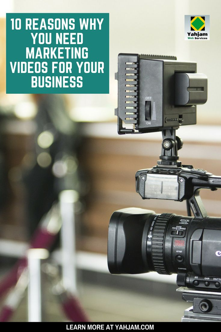 Marketing Videos for Business: 10 Reasons Why You May Need A Video Now
