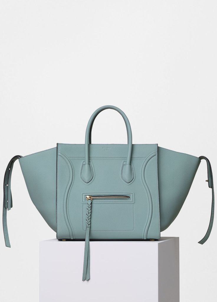 Medium Luggage Phantom Handbag in Baby Grained Calfskin - Spring ...