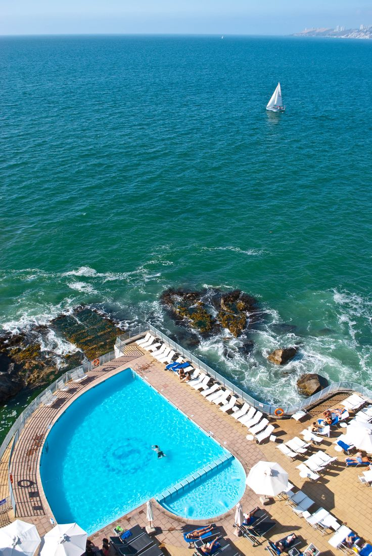 View from the Sheraton Miramar, Vina del Mar, Chile