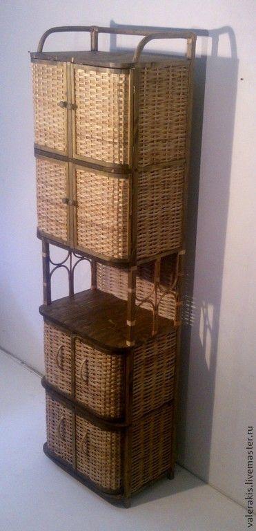 Купить Этажерка-шкаф - мебель ручной работы, мебель для дачи, мебель на заказ, плетеная мебель