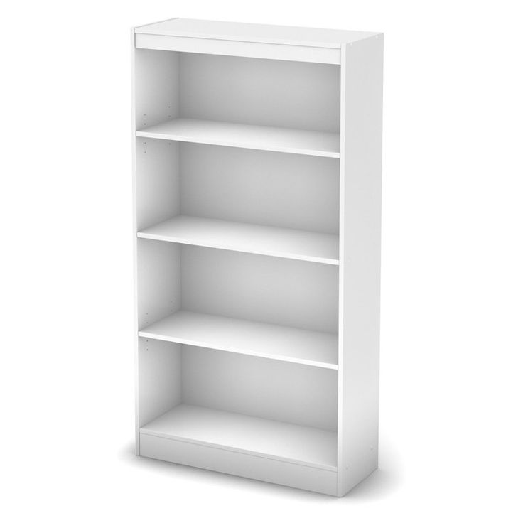 South Shore Axess Collection Pure White Bookcase - 7250767C