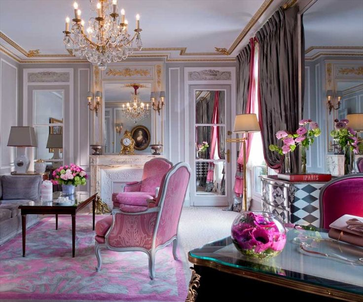 Feast For The Senses 25 Vivacious Victorian Living Rooms: Showcase Of French Style Interior Design