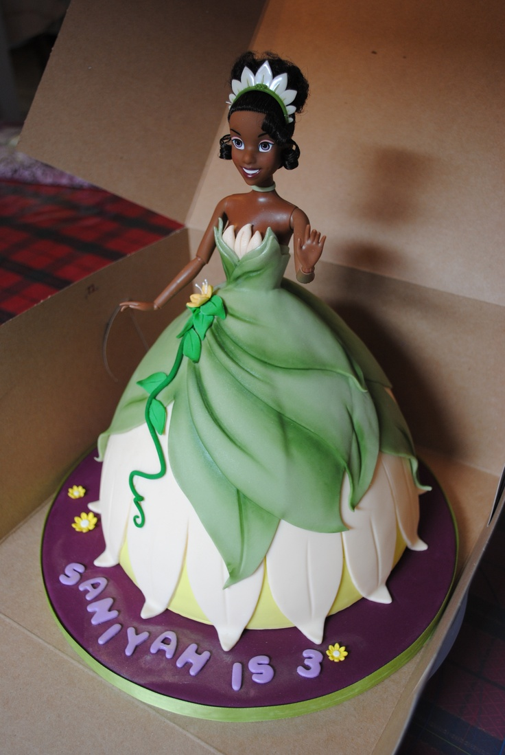 Great idea: Princess Tiana Bday cake for My Little Girl...