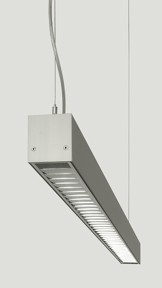 The SAZA family of light fixtures is made from an anodised aluminium profile. Built-in and pendant lights may be connected to sets of various shapes and dimensions. These lights are rather variable and particularly suitable for offices, schools and rooms with a greater demand for quality lighting.