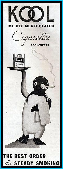 Kool Cigarettes Ad - 1935