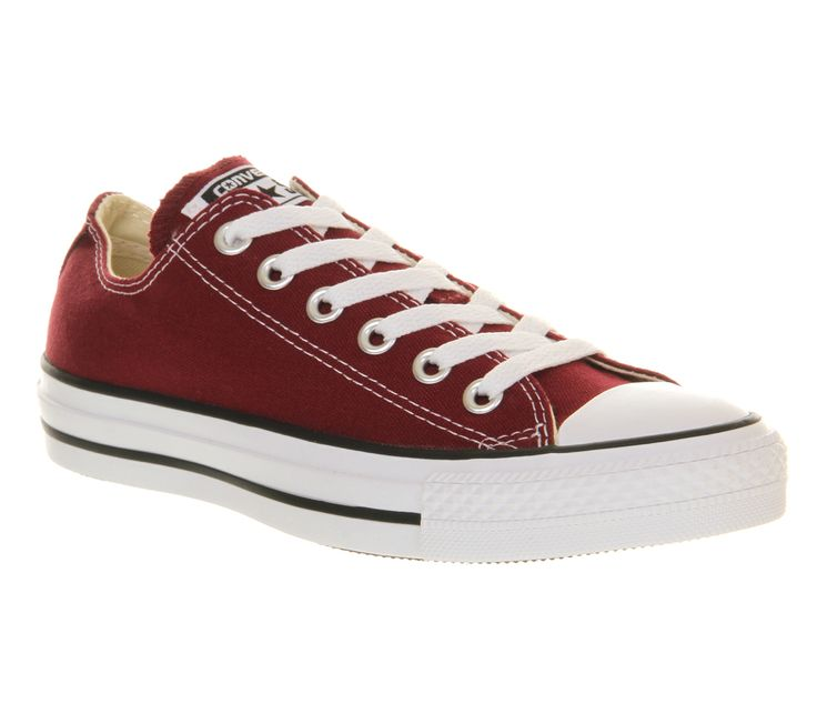 Converse Converse All Star Low Maroon Canvas - Unisex Sports £44.99