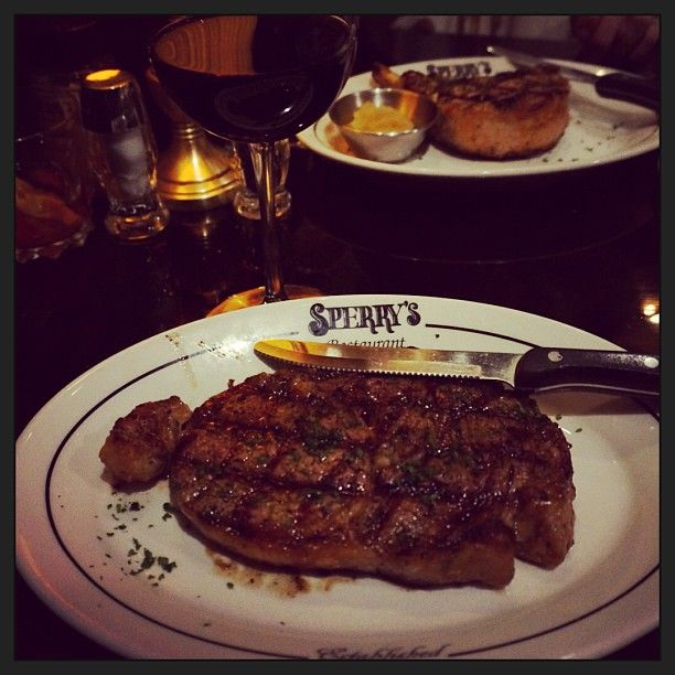 Sperry's Restaurant in Belle Meade is a little known secret and arguably one of the best steakhouses in Nashville. The atmosphere is extremely classy and traditional and the bar is stocked with super premium bourbon, liquor, and wine.