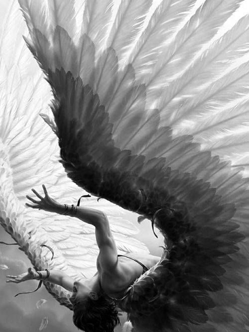 2D Art: The Fall of Icarus (Coolvibe - Daily Digital Art Inspiration)
