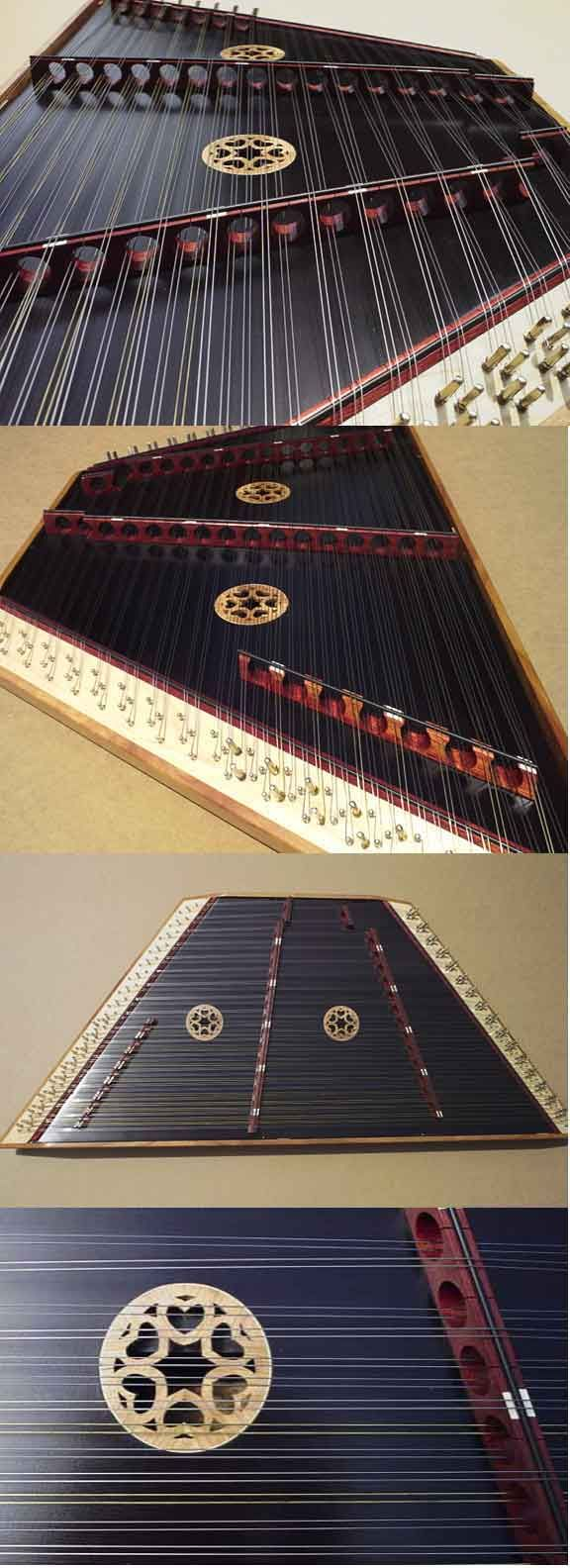 Hammered Dulcimer made by Michael C. Allen - Cloud Nine Musical Instruments