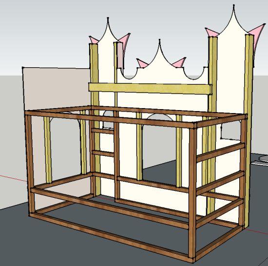 Castle bed                                                       …