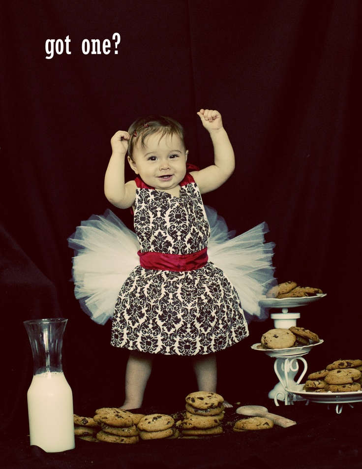 first birthday invitation for my son%0A Milk and cookies first birthday invite    We did something fun for my little