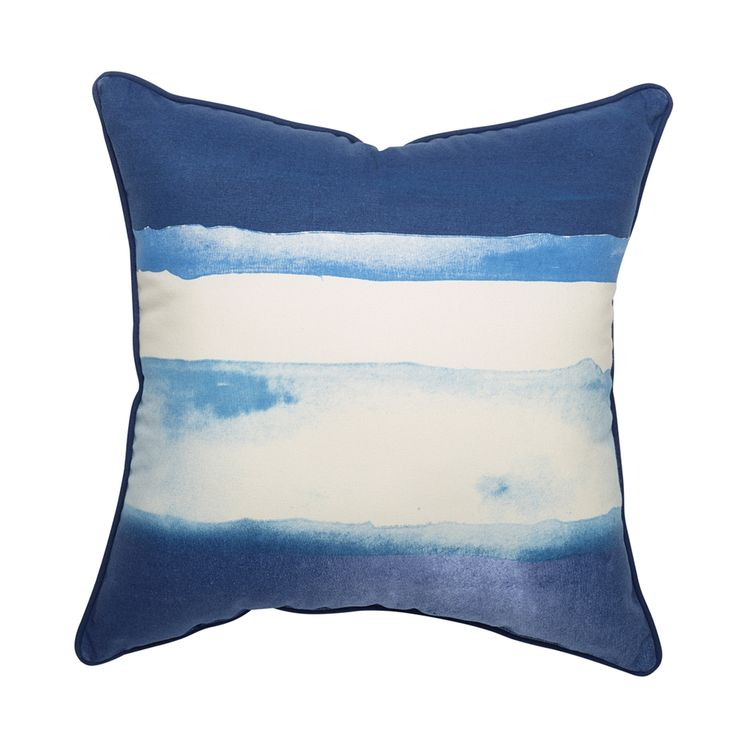 Shop allen + roth  Waterblocks Blue Outdoor Throw Pillow at Lowe's Canada. Find our selection of outdoor pillows at the lowest price guaranteed with price match + 10% off.
