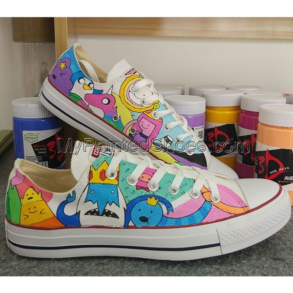 Adventure Time Anime Sneakers Converse