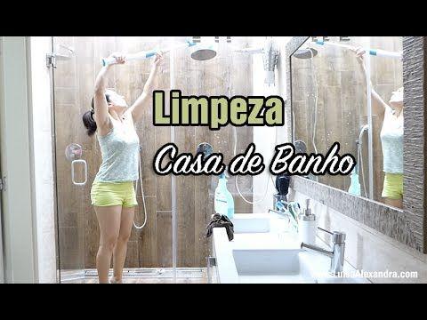 Limpeza da Casa de Banho • VÍDEO – Luísa Alexandra